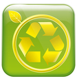 app icon and pictogram resycling vector image