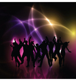 party people background 0410 vector image vector image