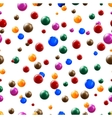 balls seamless background vector image