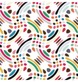 spotted and dotted print vector image vector image