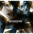 Abstract background of chaotic shapes eps vector image