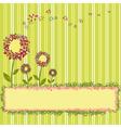 springtime template vector image