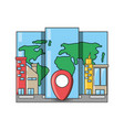 travel and navigation design vector image