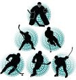 Hockey team vector image
