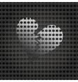 metal plate texture vector image vector image