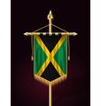 Flag of Jamaica Festive Vertical Banner vector image