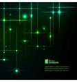 Glitter stars vector image
