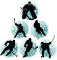 Hockey team vector image
