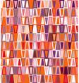 Trapezoid seamless geometric pattern vector image