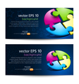 business backgrounds vector image
