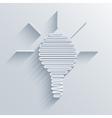 modern idea icon background vector image