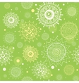 abstract seamless green pattern vector image