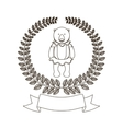 Circus Bear cartoon vector image