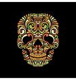 Ornate skull vector image