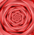 Abstract rose flower background vector image
