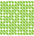 abstract background of green connected dots in vector image