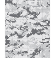 Military snow camo tileable vector image