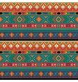Bright folk ornamental textile seamless pattern vector image