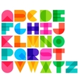 color font vector image