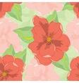 Oleander seamless pattern vector image