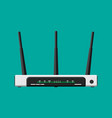 wifi router wireless access point vector image