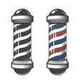 Barber Shop Pole vector image