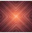 Square background ornament vector image