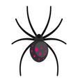 spider icon cartoon style vector image