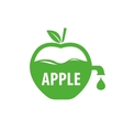 logo apple vector image vector image