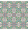 Abstract vintage ethnic seamless pattern ornament vector image