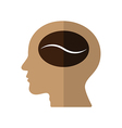 Think of Coffee vector image