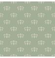 Wallpaper vintage style vector image vector image