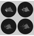 Set travel logo vector image