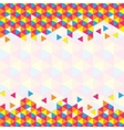 Geometric Triangular Pattern vector image