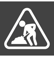 Work In Progress Sign Board vector image
