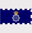 MET police flag vector image
