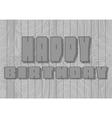 Happy Birthday lettering - handmade calligraphy vector image vector image