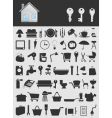 House icons2 vector image