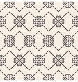 Ornate stripped geometric seamless pattern vector image