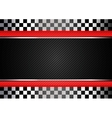 Racing black striped background vector image