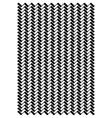 Wavey line block pattern vector image vector image
