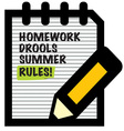 Summer Rules vector image