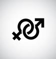 male female symbol vector image