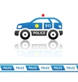 Sheriffs patrol car vector image