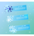 Christmas and New Year banners vector image vector image