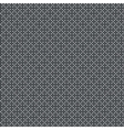 Black and white ornamental pattern vector image