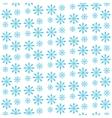 Snowflake seamless pattern Snowflake background vector image