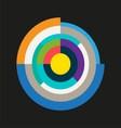 Abstract Technology Circles vector image