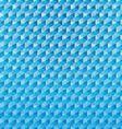 Blue polygonal mosaic background vector image