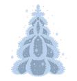 december tree vector image